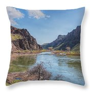 10905 Oregons Owyhee River   Throw Pillow