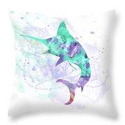 10961 Swordfish Throw Pillow