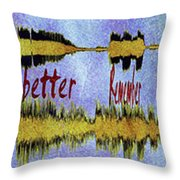 10975 Hey Jude By The Beatles With Lyrics Throw Pillow
