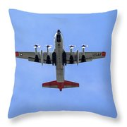 109th Air Guard Schenectady Throw Pillow