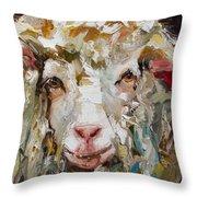 10x10 Sheep Throw Pillow