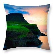 Art Landscape Oil Throw Pillow