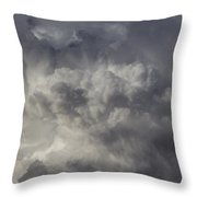 First Nebraska Storm Chase 2015 Throw Pillow