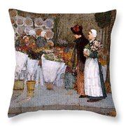 Hassam Throw Pillow