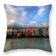 Innsbruck Austria Throw Pillow