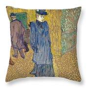 Lautrec  Throw Pillow