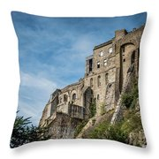 Le Mont Saint Michel Throw Pillow