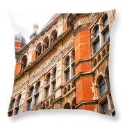 London Building Throw Pillow