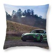 #mercedes #amg #gtr #print Throw Pillow by ItzKirb Photography