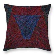 Mobius Band Throw Pillow