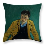 Armand Roulin At The Police Station Throw Pillow