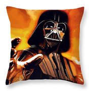New Star Wars Art Throw Pillow