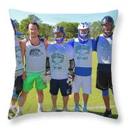 Play For Parkland  Throw Pillow