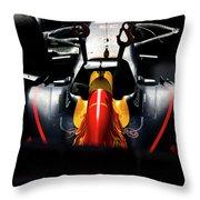 Red Bull Formula 1 Throw Pillow