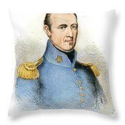 Sam Houston, 1793-1863 Throw Pillow