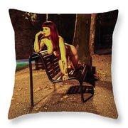 Shay Hendrix Throw Pillow