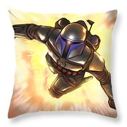 Star Wars Poster Art Throw Pillow