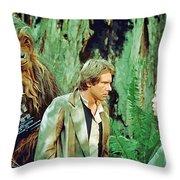 Star Wars Poster Art Throw Pillow
