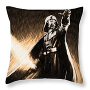 The Star Wars Poster Throw Pillow