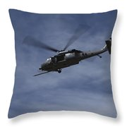 U.s. Air Foce Hh-60g Pave Hawk Throw Pillow