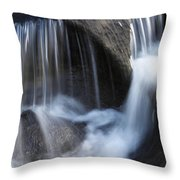 Water Flowing Throw Pillow