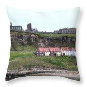Whitby - England Throw Pillow