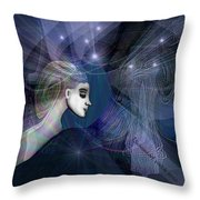 1101   Mysterious  Journey V  Throw Pillow