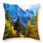 Nature Art Landscape Canvas Art Paintings Oil Throw Pillow