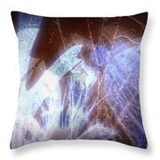 11290 Ghost Of Lost Souls Series 07-03 Throw Pillow