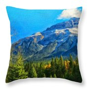 Nature Landscapes Prints Throw Pillow
