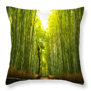Nature Landscape Work Throw Pillow