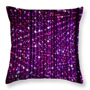 Abstract Lights Throw Pillow