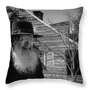 Amish Life Throw Pillow