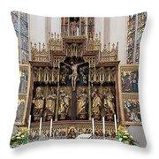 12 Apostles Altar - Rothenburg Throw Pillow