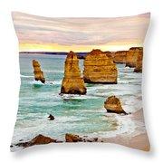 12 Apostles Throw Pillow