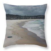 Australia - An Empty Bondi Beach  Throw Pillow