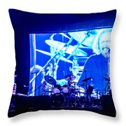 Barry Gibb Throw Pillow