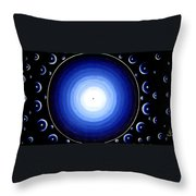 12 Dimensions Throw Pillow