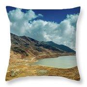 Elephant Lake, Kupup Valley, Sikkim, India Throw Pillow