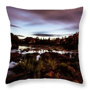 Elkton River Throw Pillow