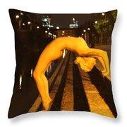Elle Black Throw Pillow