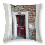French Doors Throw Pillow