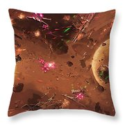 Jedi Star Wars Poster Throw Pillow