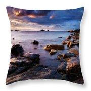 Landscape Definition Throw Pillow