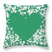Love Heart Valentine Shape Throw Pillow