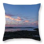 Lubec, Maine Throw Pillow