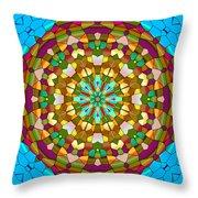 Mandala Ornament Throw Pillow