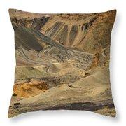 Moonland Ladakh Jammu And Kashmir India Throw Pillow