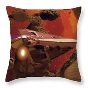 Movies Star Wars Poster Throw Pillow