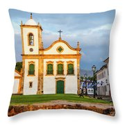Paraty, Brazil Throw Pillow
